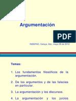 Presentación Argumentación Mayo 26 2012