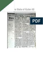 Mysore State of Hyder Ali