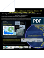 Pacheco-Polanco D. et al. (2011). The occurence of coastal and oceanic bottlenose dolphins off the Souther-Pacific coast of Costa Rica. Poster Presentation, SMMTampa