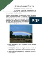 Significado de los colores del Arco Iris.doc