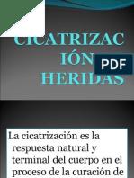 CICATRIZACIÓN DE HERIDAS