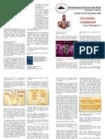 Predigtskript 2008-10-12, Gaben Des HG, Apostel Und Prophetie