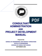 Consultant Administration and Project Development Manual by FIDIC