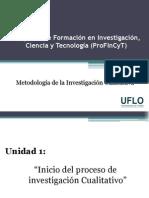 1. Profincyt - Métodología Cualitativa