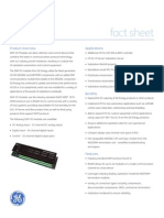 DNP IO Substation Automation Fact Sheet