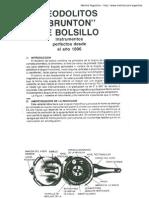 Manual Brujula Brunton español