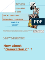 Gov20Camp - Generations and Social Media