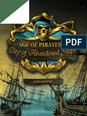 MANUAL AGE OF PIRATES 2 | Sail | Ships