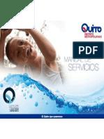 Agua de Quito - Manual de Servicios