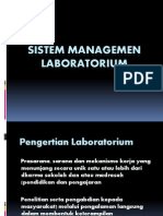 Sistem Managemen Laboratorium PPT