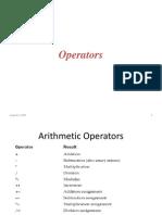 3.Operators