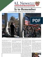 April 2013 Edition of GOAL News