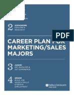 Career Plan for Marketing & Sales 2013 | DePaul University Career Center