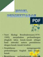 Model Persekitaran