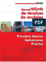Manual de Wurth de Tecnicas de Anclaje