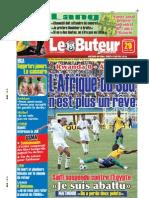 LE BUTEUR PDF du 29/03/2009