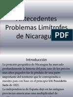 Antecedentes Problemas Limítrofes de Nicaragua