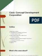 Case Product Management - Concept Development Corporation