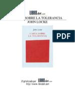 Locke John Carta Sobre La Tolerancia