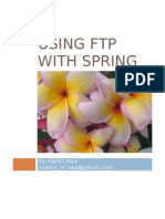 Using Ftp Service With Spring 2 and spring 3