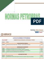 Tintas - Norma Petrobrás