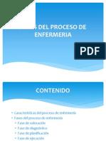 Fases Del Proceso de Enfermeria
