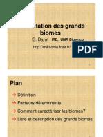 Barot Les Grands Biomes