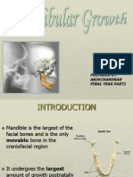 mandibular growth