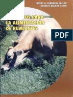 Principios Para la Alimentación de Rumiantes, Volumen 2