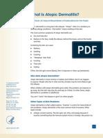 Atopic Dermatitis Ff