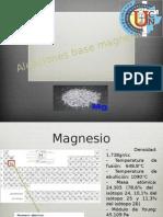 Aleaciones Base Magnesio