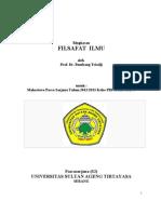 Buku Ajar Dosen Filsafat Ilmu Dipakai Tg 28 Feb 2013