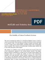 Matlab Stabiliy Analysis