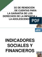 Indicadores Sociales y Financieros