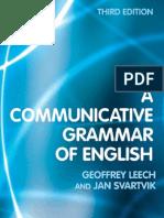 A Communicative Grammar of English-Third Ed