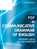 A Communicative Grammar of English-Third Ed