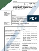NBR - Arruelas Lisas Para Parafusos e Porcas Da Linha Metrica Para Uso Geral