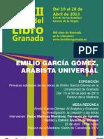 Mesa Redonda, Emilio García Gómez, al-Andalus y Granada.