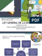 LEY GENERAL DE LA EDUCACIÓN-DELA PARTICIPACIÓN SOCIAL1