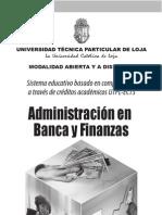 Banca y Finanzas Distancia