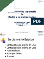 Semana 07 - LIRC - Enrutamiento Estatico IPv6.pptx