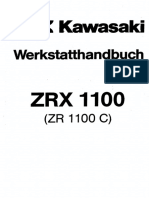Kawasaki Zrx1100 Zr 1100 C Service Manual German