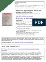 Treatment of Hallucinations