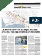 Más de 200 kilómetros de nuevas ciclovías