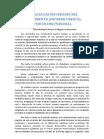 COMENTARIO CRÍTICO DEL DOCUMENTO DE LA UNESCO 2005. Alicia Rodríguez Alonso. 2º Magisterio Primaria A.