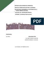 Contabilidad Gubernamental en Venezuela
