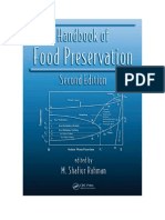 Manual de Preservacion de Los Alimentos - m. Shafiur Rahman