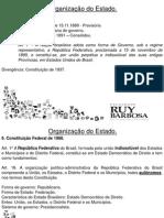 Aula 02 - Dir. Constitucional - Federação Brasileira