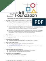 Azrieli Press Kit - Spring2013