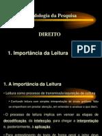 A Importancia Da Leitura
